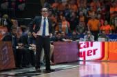 UCAM Murcia coach Diego Ocampo — Stock Photo