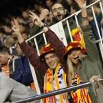 Valencia team fans — Stock Photo #63470665