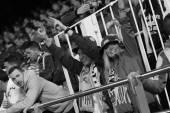 Valencia team fans — Stock Photo