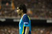 Ever Banega during the game — Stock Photo
