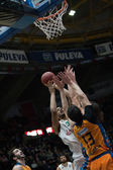 Vladimir Lucic blocking the shot — Stock Photo