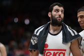 Bourousis after the game — Stock Photo