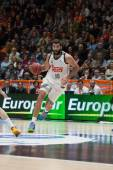 Bourousis in action — Foto Stock