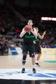 Vasilije Micic at free throw — Stock Photo
