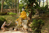Buddhist temple of Golden Triangle — Stock Photo