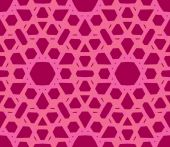 Bright lace pattern in lilac pink — Stock Vector