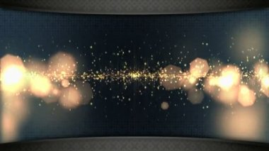 Wide screen TV wall — Stock Video