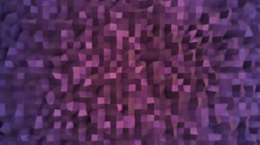 Purple flashing mosaic wallpaper — Stock Video