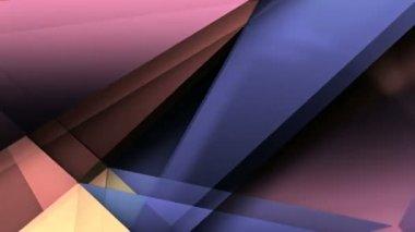 Drift folding triangles — Stock Video