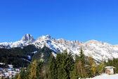 Winter Austria mountain in the Alps — Stok fotoğraf
