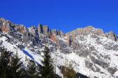 Winter Österreich Berg in den Alpen — Stockfoto