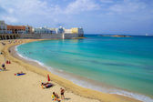 Gallipoli beach — Stock Photo