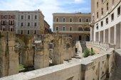 St. Oronzo plaza in Lecce — Stock Photo