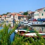 Vrboska a small harbor on the island of Hvar , Croatia — Stock Photo #60843417