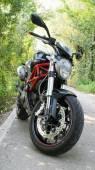 Monster motorbike — Stock Photo