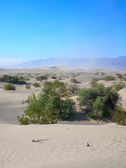 Sand Dunes in Death Valley — Stock Photo