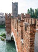 Old bridge Verona Italy — Stock Photo