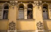 The vintage window — Stock Photo