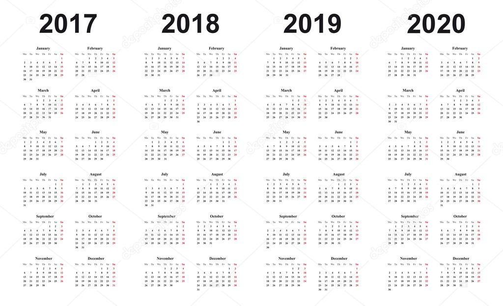 Картинки с календарем на 2017-2018 год