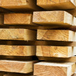 Stacks of prepared lumber — Stock Photo #54595491