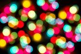 Bokeh of christmas light — Foto Stock