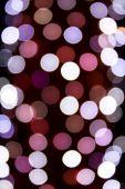 Noel ışıkları bokeh — Stok fotoğraf
