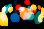 Bokeh sorprendente di luci di natale — Foto Stock