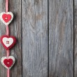 Christmas heart shaped decoration — Stock Photo #61060071