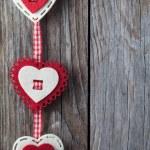 Christmas heart shaped decoration — Stock Photo #61060345