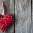 Christmas heart shaped decoration — Stock Photo #61061137