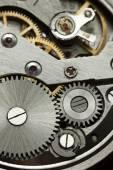 Clock gears mechanism — Stock Photo