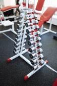 Modern european gym — Stock Photo