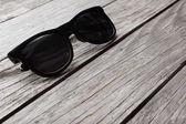 Eyeglasses Glasses with Black Frame — Stock Photo