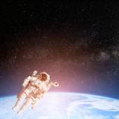 Astronaut spaceman in space — Stock fotografie