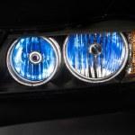 Car xenon headlights — Stock Photo #52552821