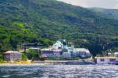 Monastery St.Panteleimonos at Agion Oros (Holly Mountain) Greece — Zdjęcie stockowe