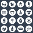 Set of simple baby care icons — Stock Vector #62840069