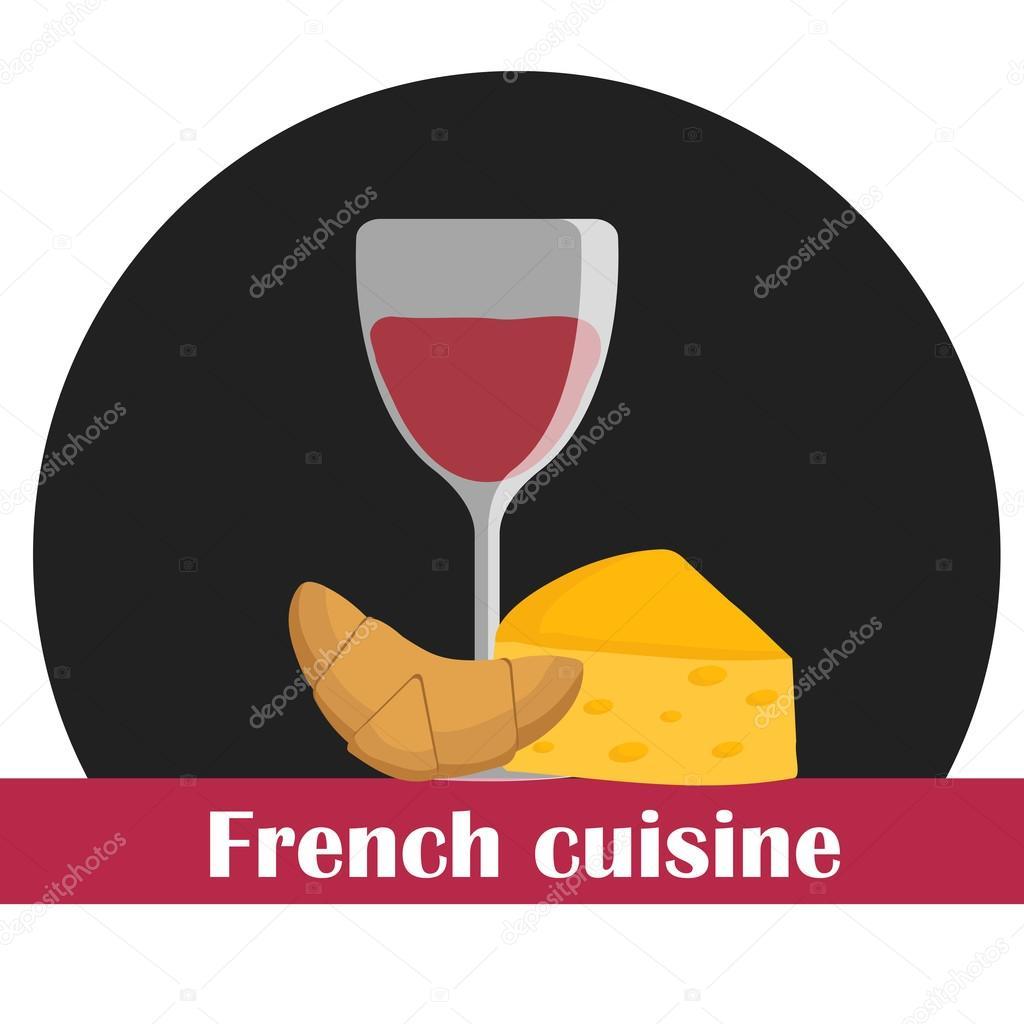 Ilustraci n de dibujos animados sobre el tema de la cocina for Diseno de cocina francesa
