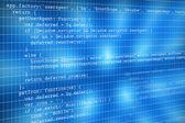 Web programming code — Stock Photo