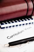 Curriculum vitae or resume concept — Foto Stock