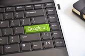 Google it button on keyboard — Stock Photo