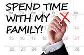 Spend time with my family — Stock Photo