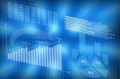 Diagrams charts — Stock Photo