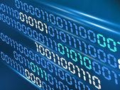 Koncepcja kodu binarnego — Zdjęcie stockowe