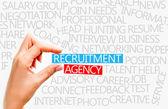 Recruitment agency concept — Stock Photo