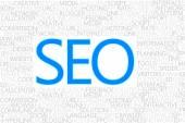 SEO Concept text — Stock Photo