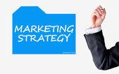 Marketing strategy concept — Stock Photo