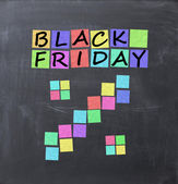 Black Friday sales concept — Stock Photo