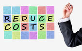 Reduce costs — Stock Photo