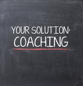 Coaching concept — Stock Photo